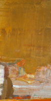 Untitled - Chafic Abboud 1964 - Oil on canvas - 37x79 in.